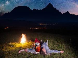 Dormir à la belle étoile, pourquoi pas ?